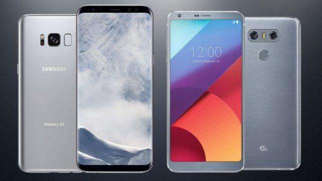 LG G7 e Galaxy S9 in arrivo prima del previsto?