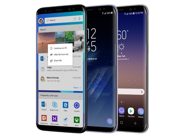 Galaxy S8 Microsoft Edition