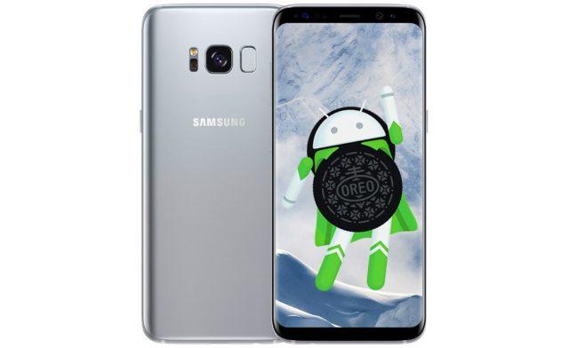 Galaxy S8 Android Oreo Screenshot