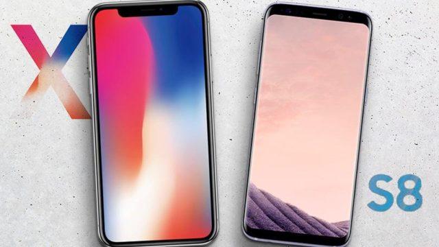 iPhone X battuto da Galaxy S8