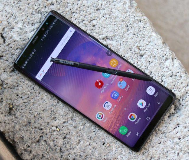 Galaxy Note 8 aggiornamento manutenzione