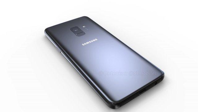 Galaxy S9 nuovi render