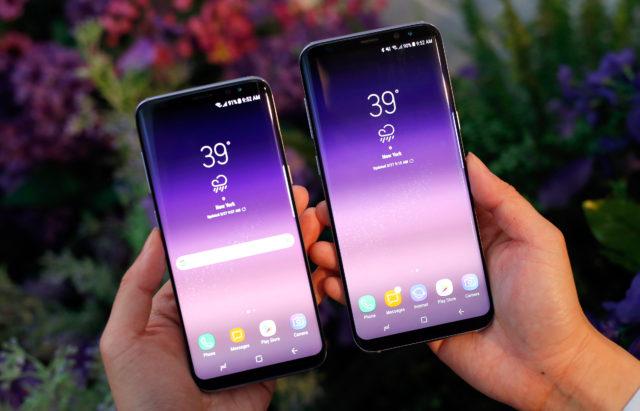 Galaxy S8 e S8+ aggiornamento firmware novembre 2017