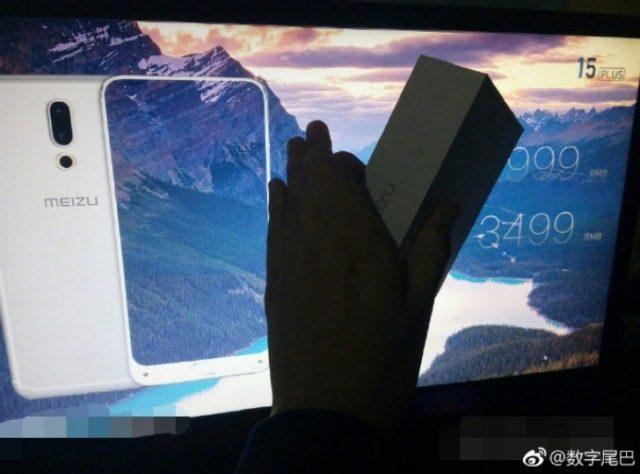 Meizu 15 Plus immagini dal vivo