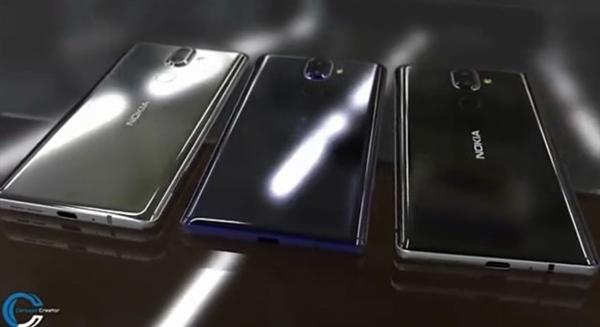 Nokia 9 e Nokia 8 seconda versione