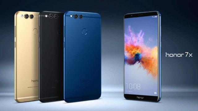 Huawei Honor 7X ufficiale