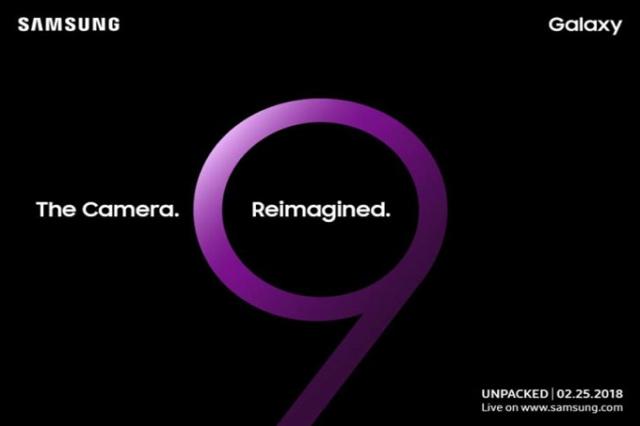 Ufficiale: Galaxy S9 arriva il 25 febbraio. Prevista fotocamera innovativa