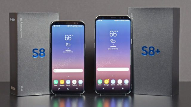 Galaxy S8 e S8+ display accesi casualmente