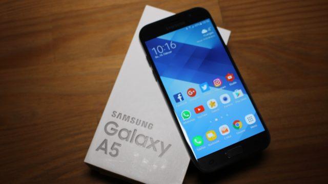 Galaxy A5 2017 aggiornamento camera