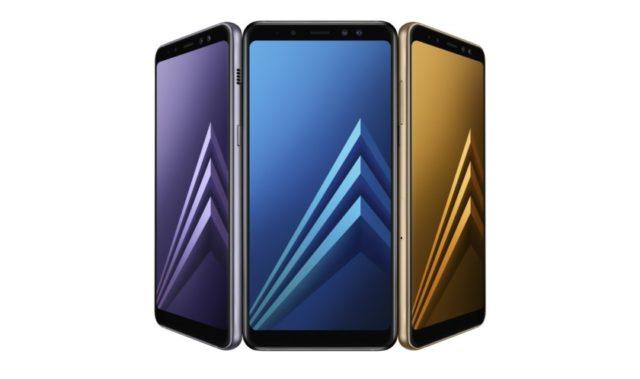 Samsung Galaxy A8 2018 promo