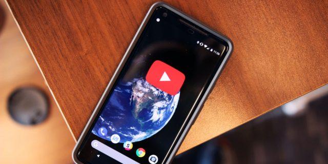Youtube per Android novità