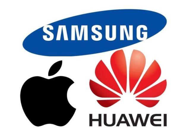 Apple vs Samsung vs Huawei profitti 2017