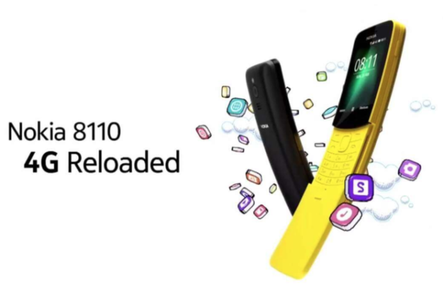 Nokia 8110 4G: prezzo e caratteristiche