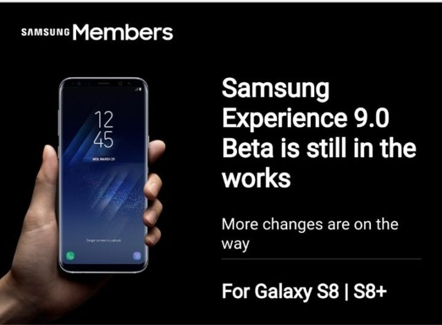 Samsung Galaxy S8 Experience 9.0