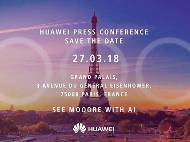 Huawei P20 e P20 Plus insieme in un immagine in alta definiz