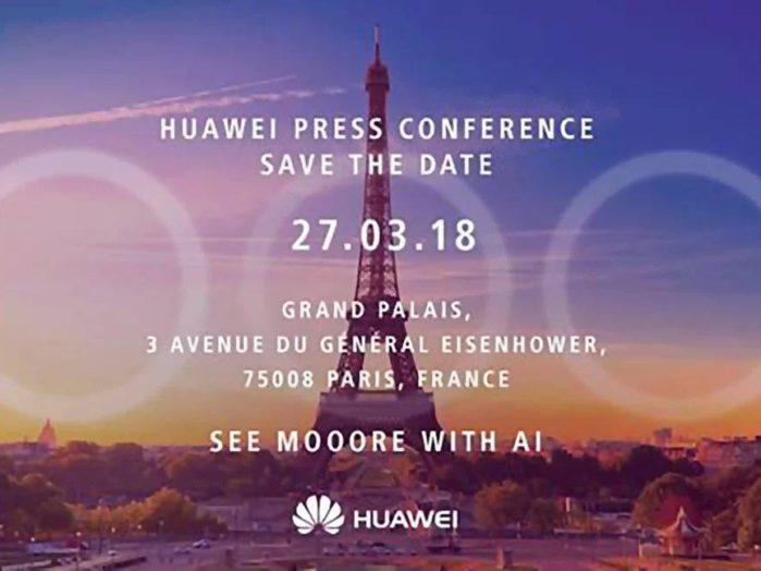 Huawei lancia il nuovo smartphone: Huawei P20 Lite