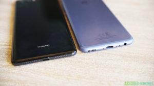 Huawei P20 vs Huawei P10 immagini