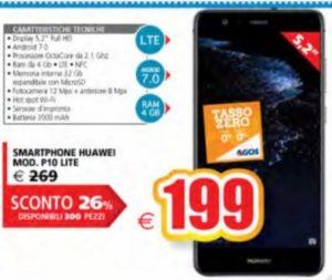 Huawei P10 Lite prezzo sottocosto
