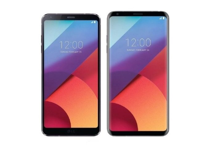 LG G6 e LG V30 Android Oreo 8.1