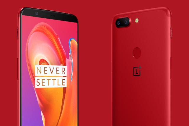 OnePlus 5T Lava Red edizione limitata
