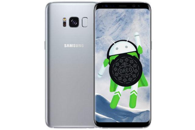 Galaxy S8 aggiornamento Android Oreo