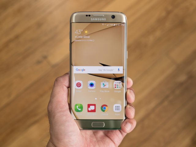 Galaxy S7 Edge con Android Oreo il Video