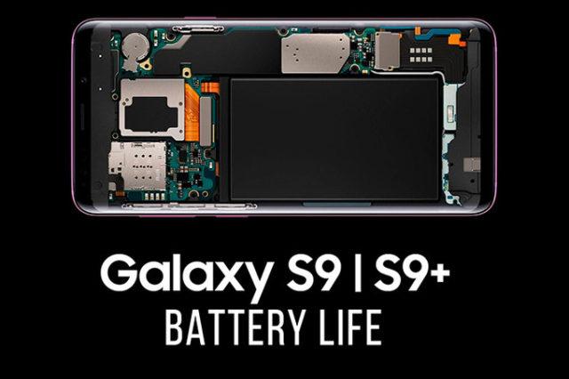 Galaxy S9 vs Galaxy S8 durata batteria