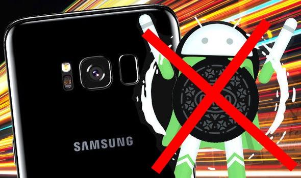Samsung Galaxy eclusi aggiornamento Android Oreo