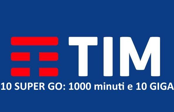 Passa a TIM 10 Super Go