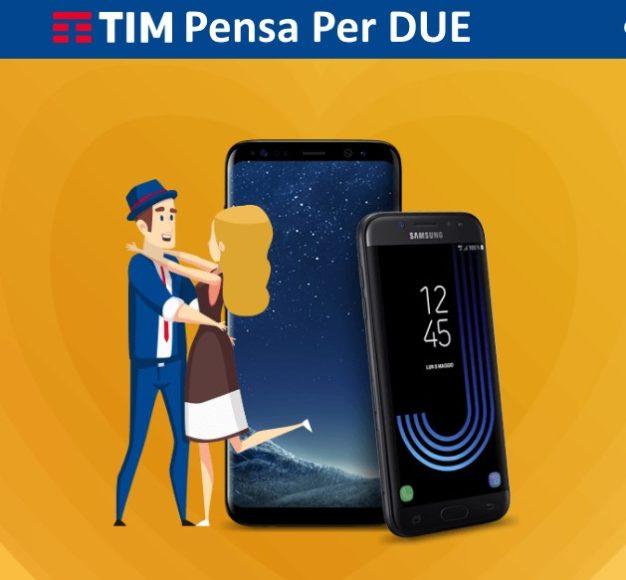 TIM smartphone per due San Valentino