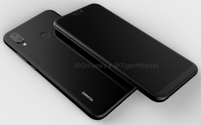 Huawei P20 Lite render e video