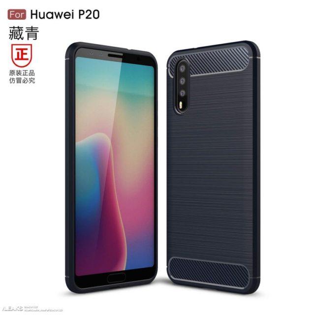 Huawei P20 renders