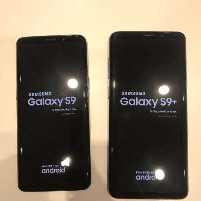Galaxy S9 e S9+ in immagini dal vivo insieme prima del MWC 2