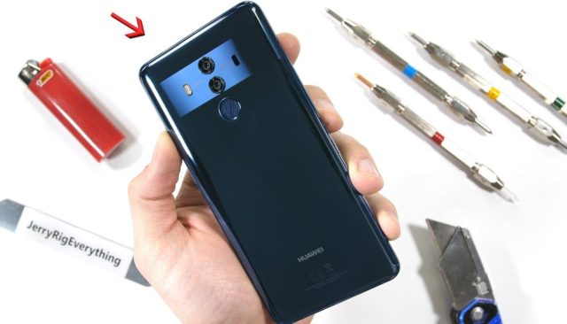 Huawei Mate 10 Pro test resistenza