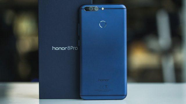 Honor 9 e Honor 8 Pro Android Oreo