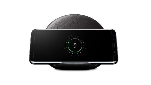 Galaxy S9 carica batteria wireless