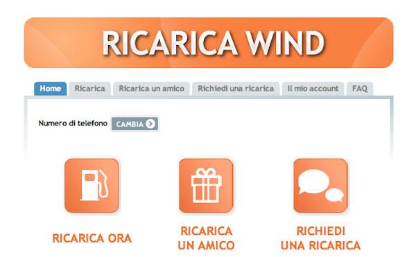 Wind ricarica: addio a quella da 2 euro