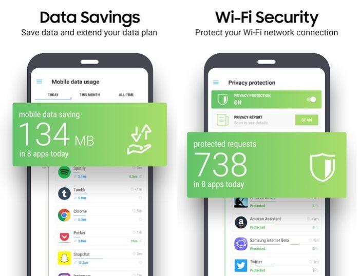 Samsung Max per risparmio dati e privacy
