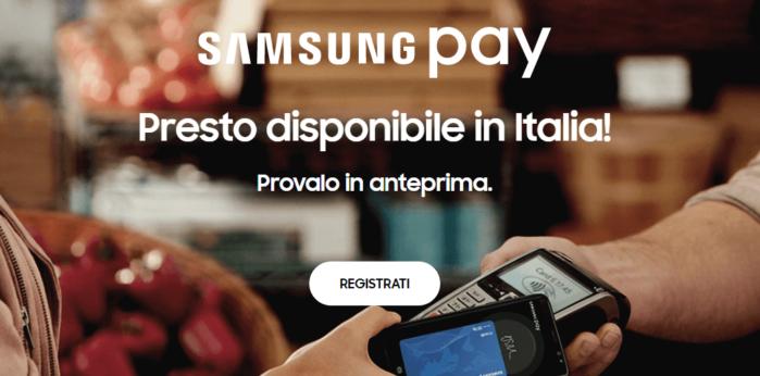 Samsung Pay smartphone Galaxy abilitati