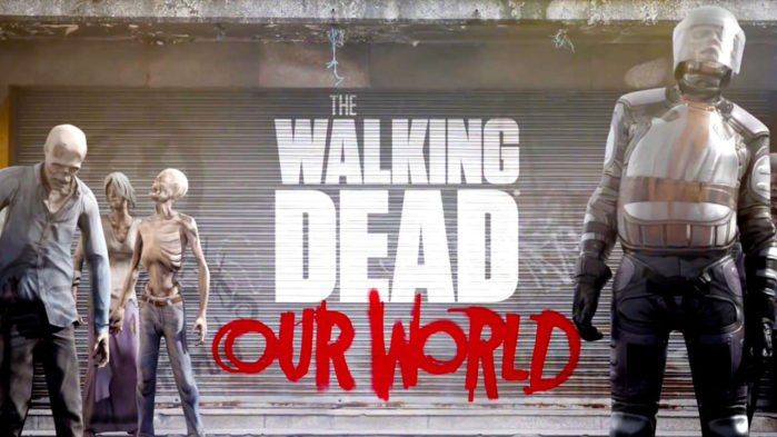 The Walking Dead Our World per Android e iOS trailer video