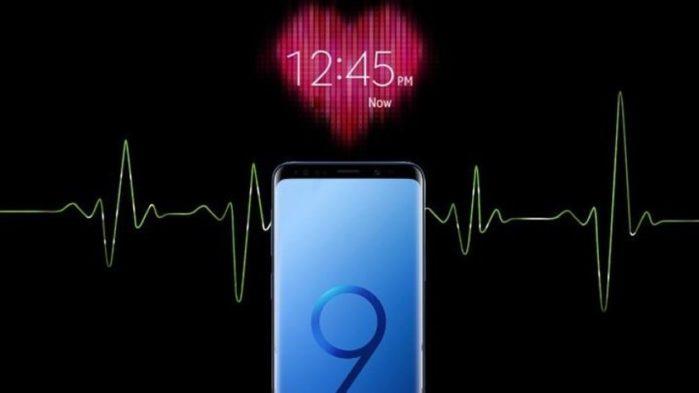 Galaxy S9 misura la pressione sanguigna