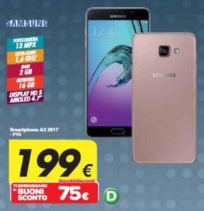 Galaxy A3 2017 Carrefour