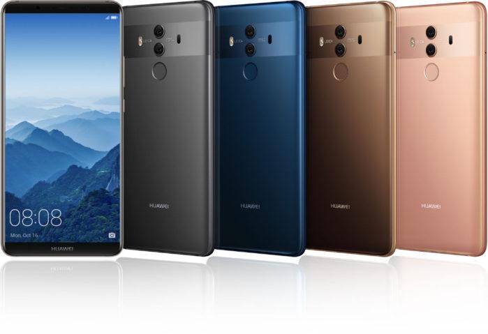 Huawei Mate 10 Pro aggiornamento marzo 2018