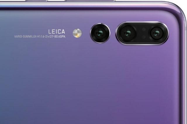 Huawei P20 video pubblicitari tripla camera