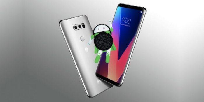 LG G5, G6, V20 e V30 Android Oreo