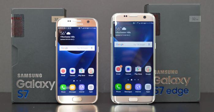 Galaxy S7 Edge e S7 aggiornamento firmware marzo 2018