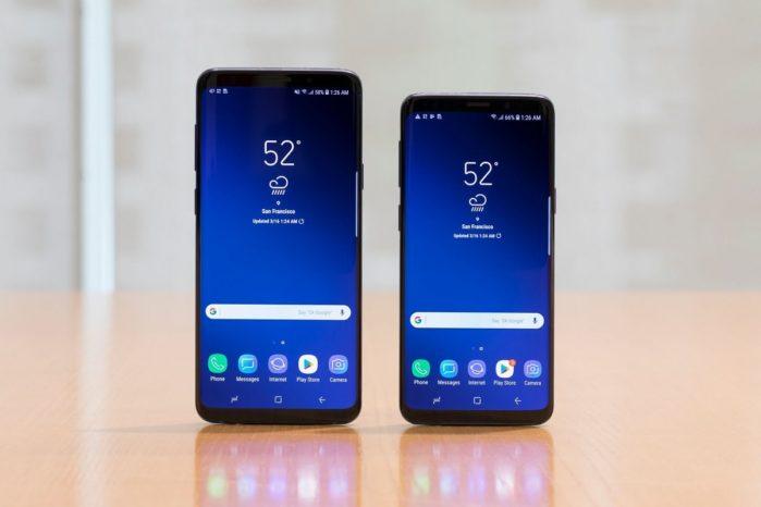 Galaxy S9 e S9+ sono più durevoli di Galaxy Note 8 e Galaxy S8
