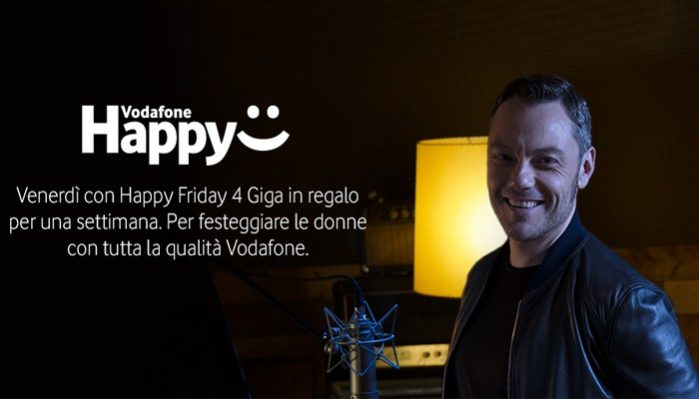 Vodafone Festa delle donne Happy Friday