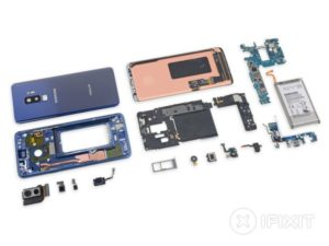 Galaxy S9+ teardown