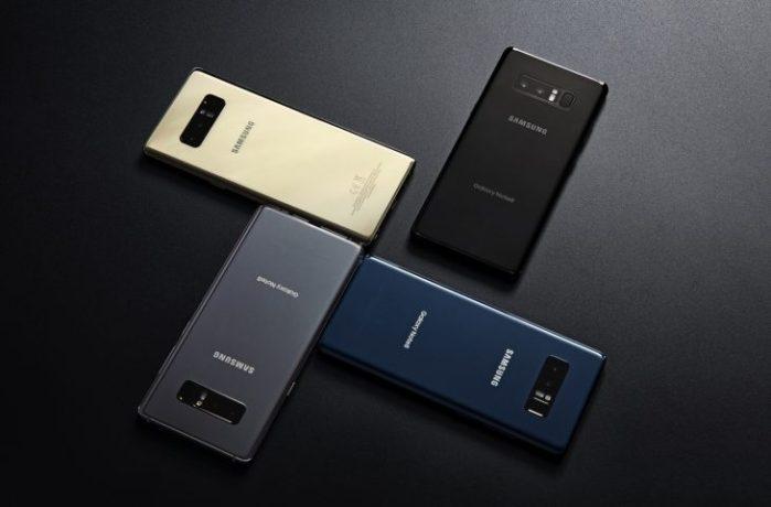 Galaxy Note 8 aggiornamento Oreo rumors